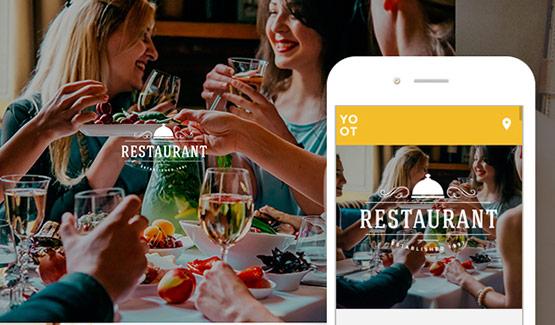 Thiết kế website nhà hàng, ăn uống